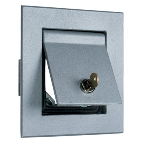 Legrand-Pass & Seymour 4600 Pass and Seymour Aluminum Lock Enclosure, Flush, Gray