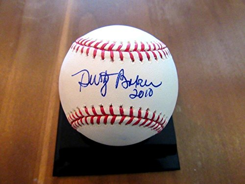 Dusty Baker Dodgers Player Giants Reds Nats Mgr Autographed Signature Baseball - JSA Certified