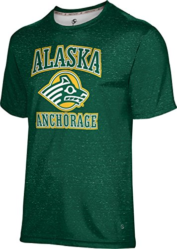 ProSphere University Of Alaska Anchorage Men's Shirt - Heather - Anchorage Mens Clothing