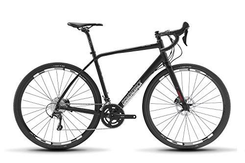 Cyclocross Disc Fork - Diamondback Bicycles Haanjo 4 Gravel Adventure Road Bike, Black, 53cm/Medium