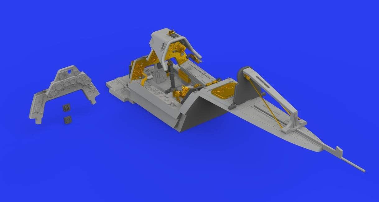 Various Eduard EDB648463 Brassin 1:48-Fw 190 A-8 Cockpit Model Kit