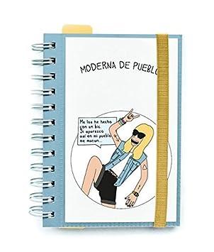 Agenda escolar Moderna de pueblo dia vista 2016 / 2017 ...