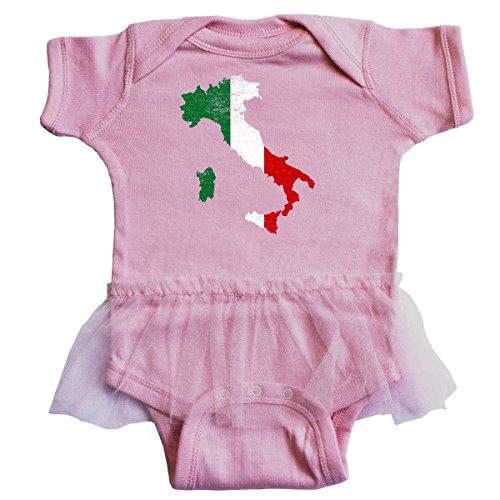 Italian Tulle (inktastic Italian Map Flag Infant Tutu Bodysuit Newborn Pink 2f09d)