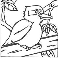 PaintaDoodle 12 x 12 Laughing Kookaburra Painting Kit