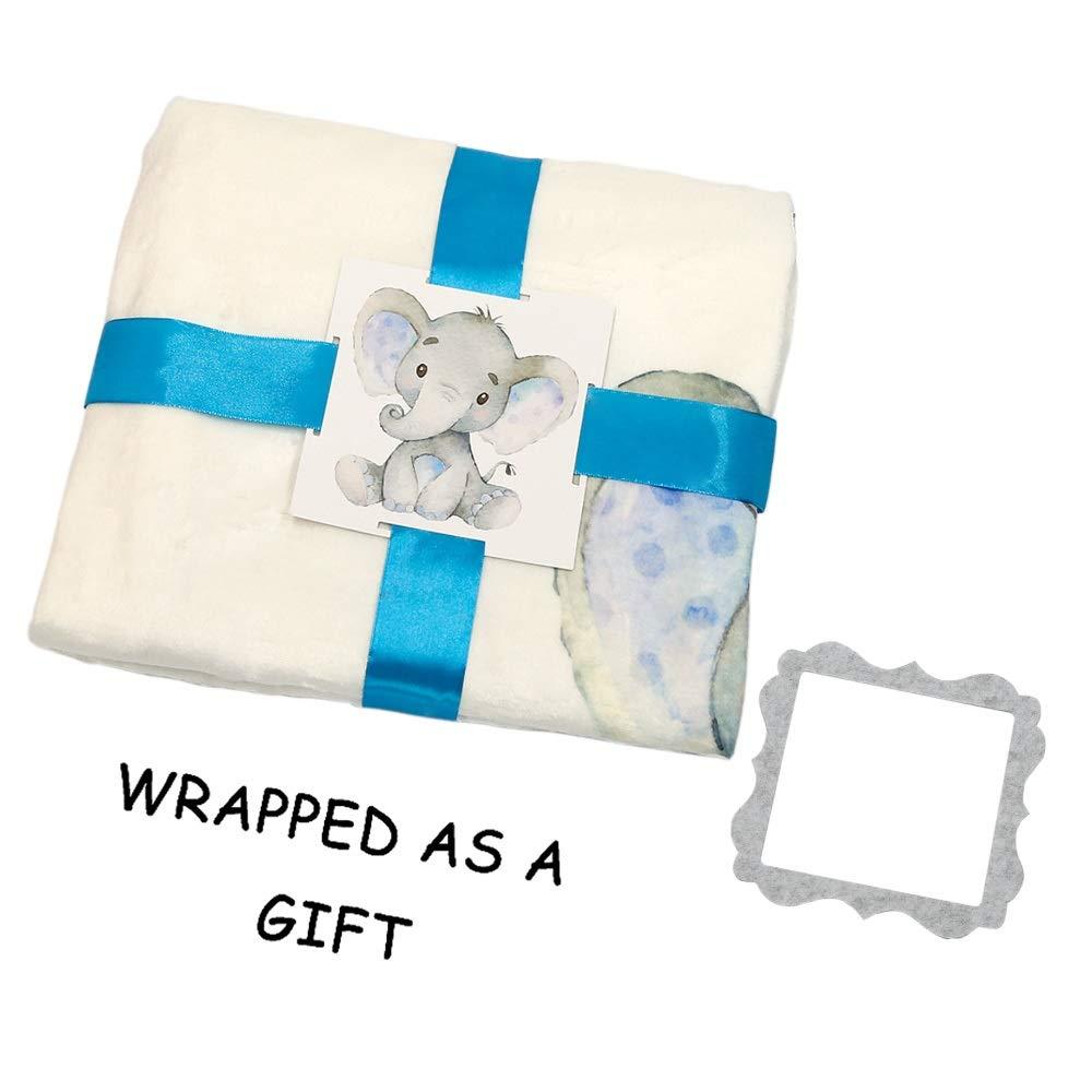 Amazon.com: Manta de hito mensual para bebé – Manta de felpa ...