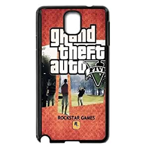 GTA 5 Scenes Playcard Samsung Galaxy Note 3 Cell Phone Case Black phone component RT_181844