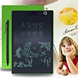 Inverlee 9.7Inch LCD Writing Board,Tablet Pad Office Memo Home Message Kids Drawing Board Doodle Pads Electronic Graphic Drawing Tablet (Green)
