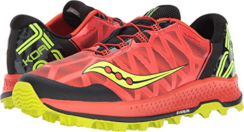 Saucony Men's Koa ST Running Shoe, Orange Citron, 14 Medium US Review
