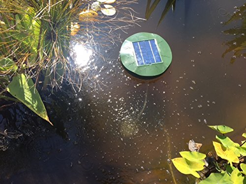 MNP F10 Floating Pond Aerator with Air Stone