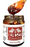 Spicy Chili Crisp Hot Chili Oil Sauce with Chili Flakes (Original Blend, 1-pack)