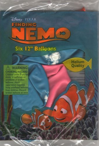 Finding Nemo Printed 12in Latex Balloons -