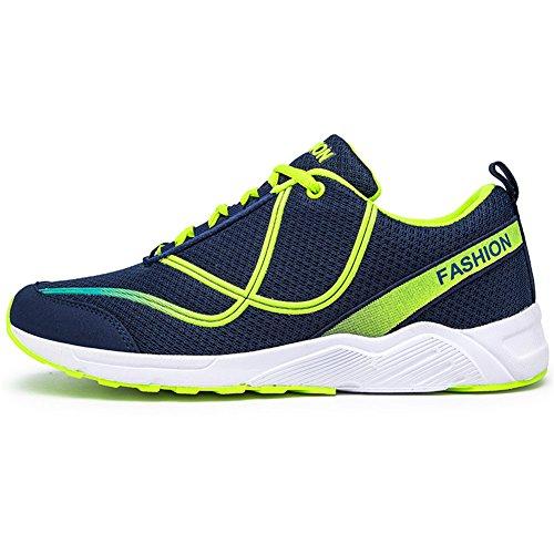 TORISKY Herren Sportschuhe Laufschuhe Turnschuhe Sneakers Leichtes Schuhe  Ruinning Shoes Grün 7bfc181adf