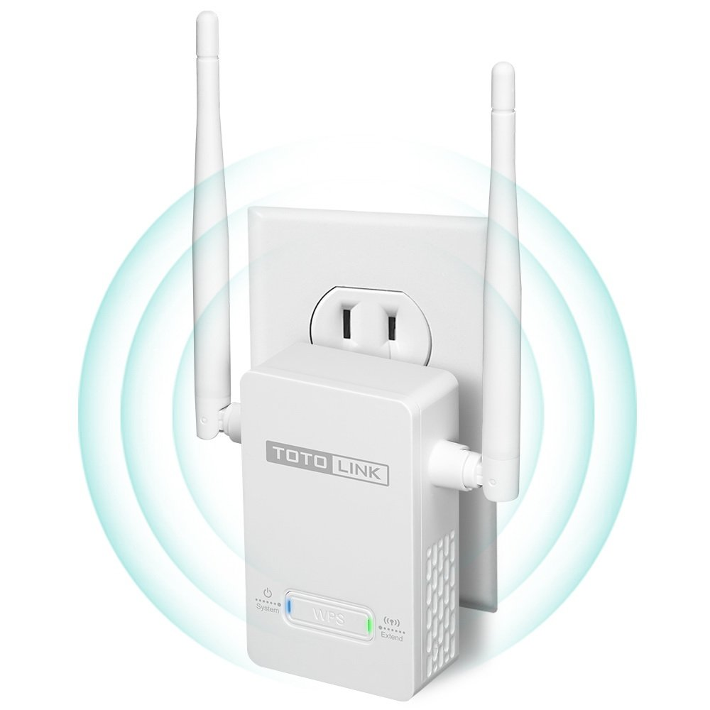 TOTOLINK N300 WiFi Range Extender with External Antenna (EX200)
