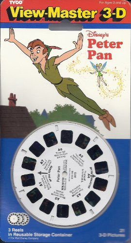 Peter Pan View-Master 3-D - 3 Reels by Fisher-Price (Image #1)