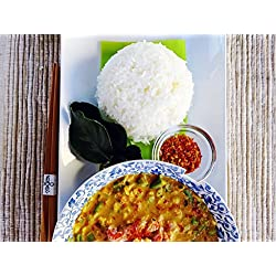 Thai Crab Curry & Jasmine Rice Meal Kit by Takeout Kit (Dinner for 4)