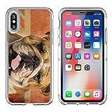 MSD Apple iPhone X Clear case Soft TPU R