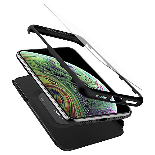 Spigen Thin Fit 360 Designed for Apple iPhone Xs Case (2018) / Designed for Apple iPhone X Case (2017) - Black ()