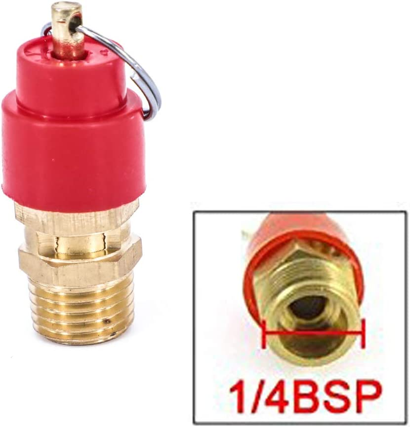 Compressor Safety Valve 1//4 10 bar 145PSI