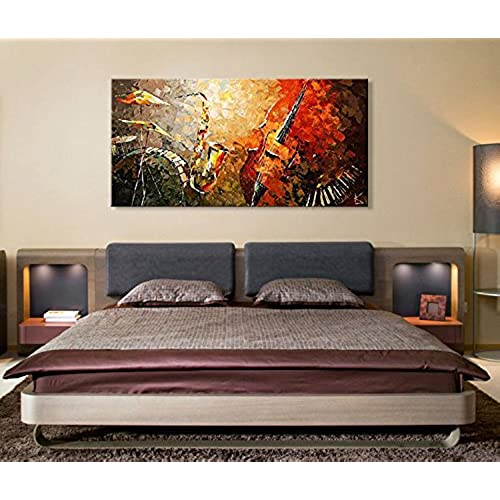 Dining room abstract painting wall for Dining room wall art amazon