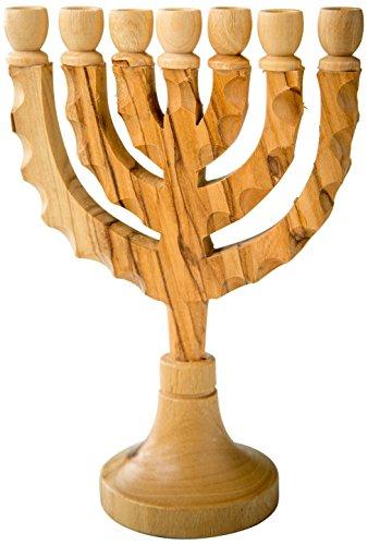 (Earthwood MS-17 Olive Wood Jesus in Cross Pendant,)