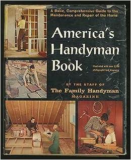 America's Handyman Book : Family Handyman Magazine : Amazon