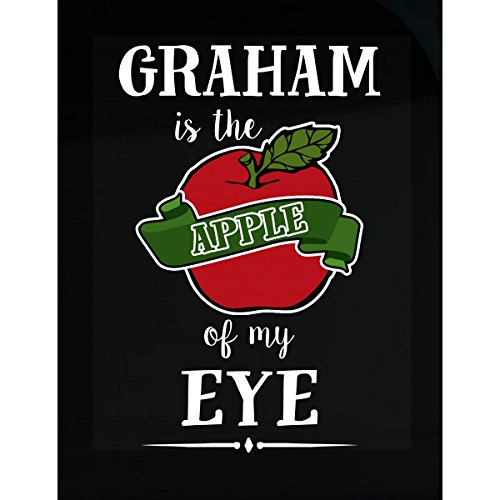 Graham Is The Apple Of My Eye Cool Gift - Sticker