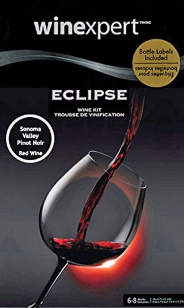 Home Brew Ohio Eclipse Sonoma Valley Pinot Noir Wine Ingredient Kit,