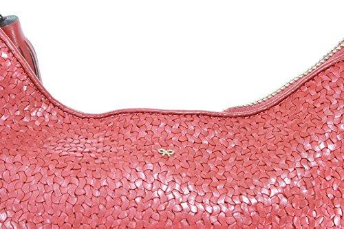 Anya Hindmarch , Sac pour femme à porter à l'épaule Orange Satsuma