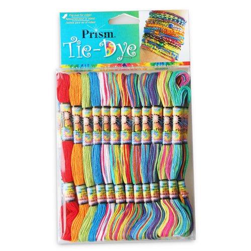 Friendship Bracelets 36 (PRISM TIE-DYE 36 CRAFT THREADS FOR FRIENDSHIP BRACELET (1))