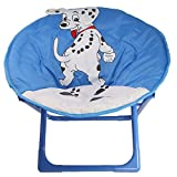 Toddlers Saucer/Folding Chair with Dog Design
