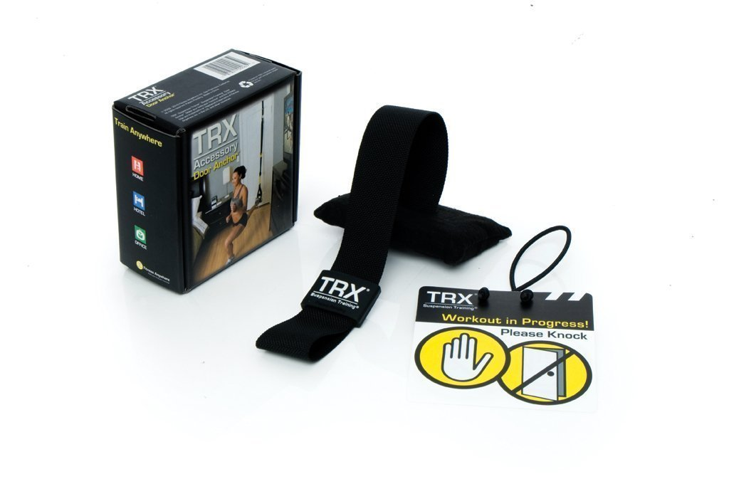 TRX Training Door Anchor, Simple, Portable Anchor Attaches to Solid Doors