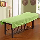 LWZY Linens Massage table sheet,waterproof sheets,spa linens,set of 2,sheet/cosmetic sheets-D 190x80cm(75x31inch)