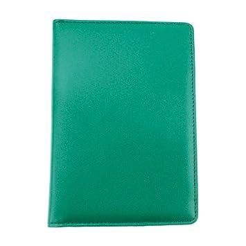 Soporte para tarjeta de puntuación de cuero auténtico para golf de ...