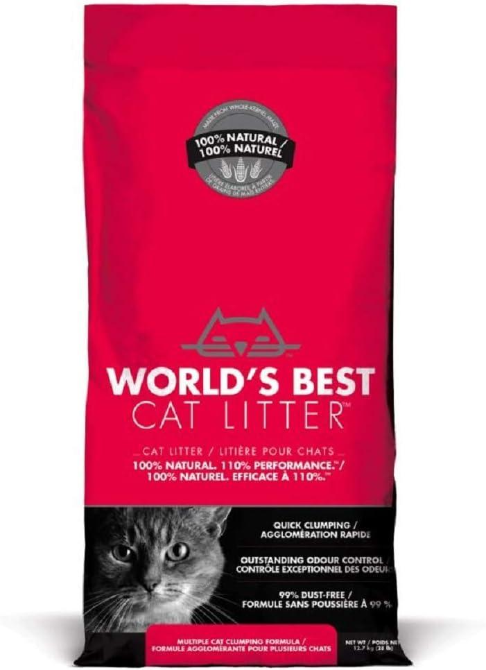 World's Best Cat Litter Extra Strength (Red Bag), 6350 GR