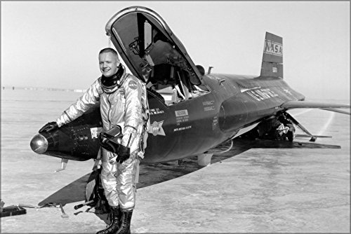 24x36 Poster; Pilot Neil Armstrong Next To The X-15 Ship #1