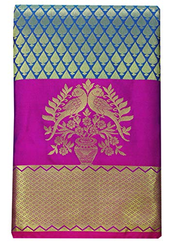 SHOPUS | SARAVANABAVA SILKS Kanchipuram Silk Saree Multi Coloure