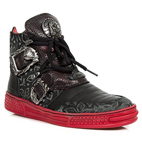 Rock S5 PS049 Rot New M Pisa Stiefel ZvaWqzq