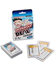 MONOPOLY - Deal - Card Game - Short Play - Play in 15 minutes - 2 to 6 Players- Family Board Games and Toys for Kids - Boys and Girls - Ages 8+