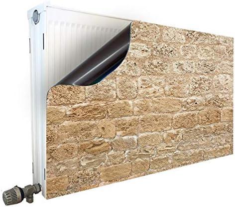Cubierta magnética para radiador, diseño de Piedras: Amazon.es: Hogar