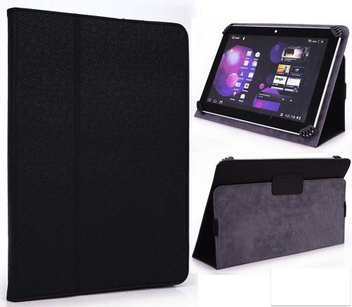 Hipstreet Vanguard 2 Tablet Case - UniGrip Edition - By Cush Cases (Black)