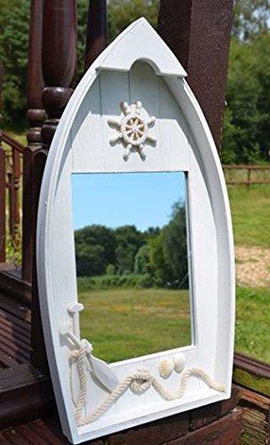 Large Dinghy Mirror | Captain's Maritime Beach Home Decor | Nagina International by Nagina International