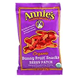 #2: Annie's Organic Bunny Fruit Snacks, Berry Patch, 24 Pouches, 0.8 oz Each