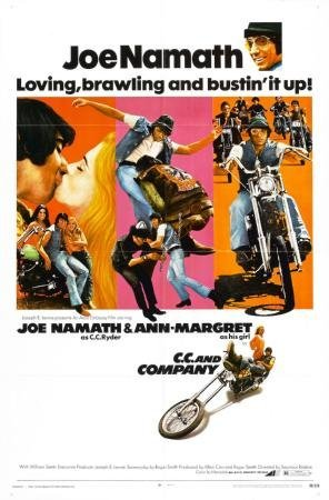 Cc And Company Joe Namath Movie Poster 11x17 Master Print