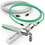 Crossrope Jump Rope Get Lean Set - Speed Rope + Strength Rope - Improve Fitness and Lose Weight in a Fun Workout - Meet Your Weight Loss Goals with a Gym You Can Take Anywhere