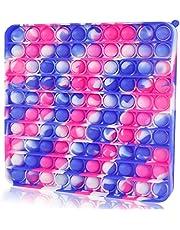 100 Bubbles Big Size Push Pop Bubble Sensory Fidget It Cheap Toys, Popper Poppers 100 Bubbles