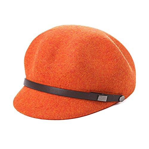 clothing Top Hat/Korean Women Beret/Fashion Felt Cap-A One Size