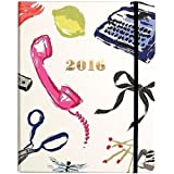 kate spade new york Large 17 Month Covered Spiral Agenda, Novelty Couture