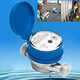 FidgetFidget Meter Acces Water Flow Measuring Copper Cold Dry Counter