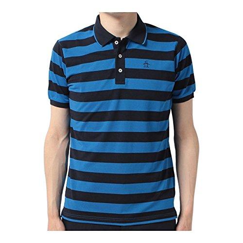 マンシングウェア(Munsingwear) 半袖シャツ JWMJ214 M398 ブルー 3L