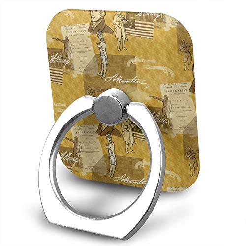 Alexander Hamilton360 Degree Swivel Creative Ring Buckle Bracket Multi-Functional Ring Bracket